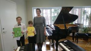 Õpilaste esimene kontsert