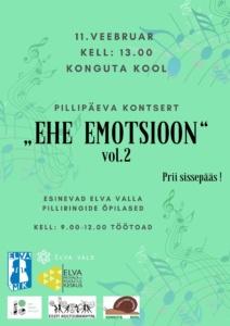 """Elva valla pillipäev """"Ehe emotsioon"""", vol 2"""