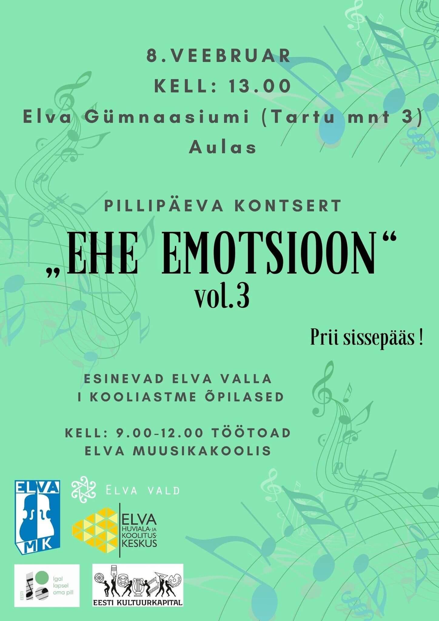 """Pillipäev """"Ehe emotsioon"""", vol 3"""